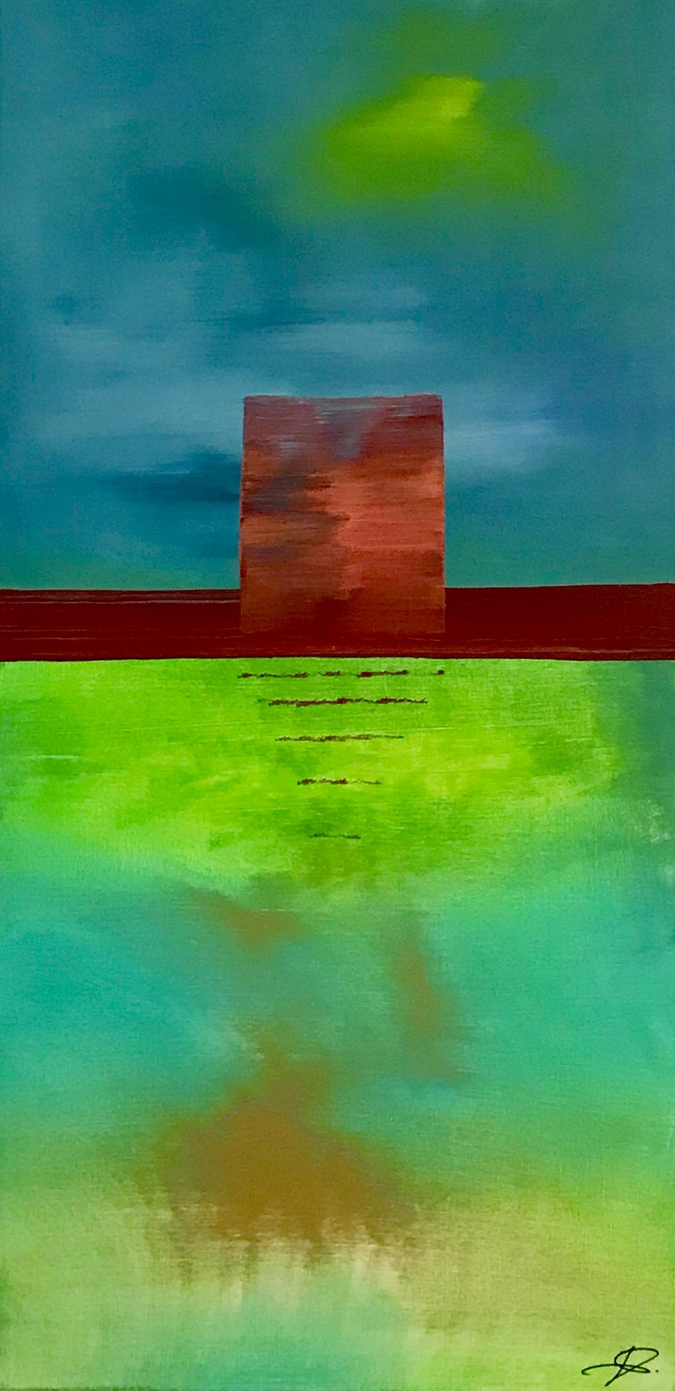 """Photo du tableau """"Trouve ta place!"""", J. Schallenberger"""