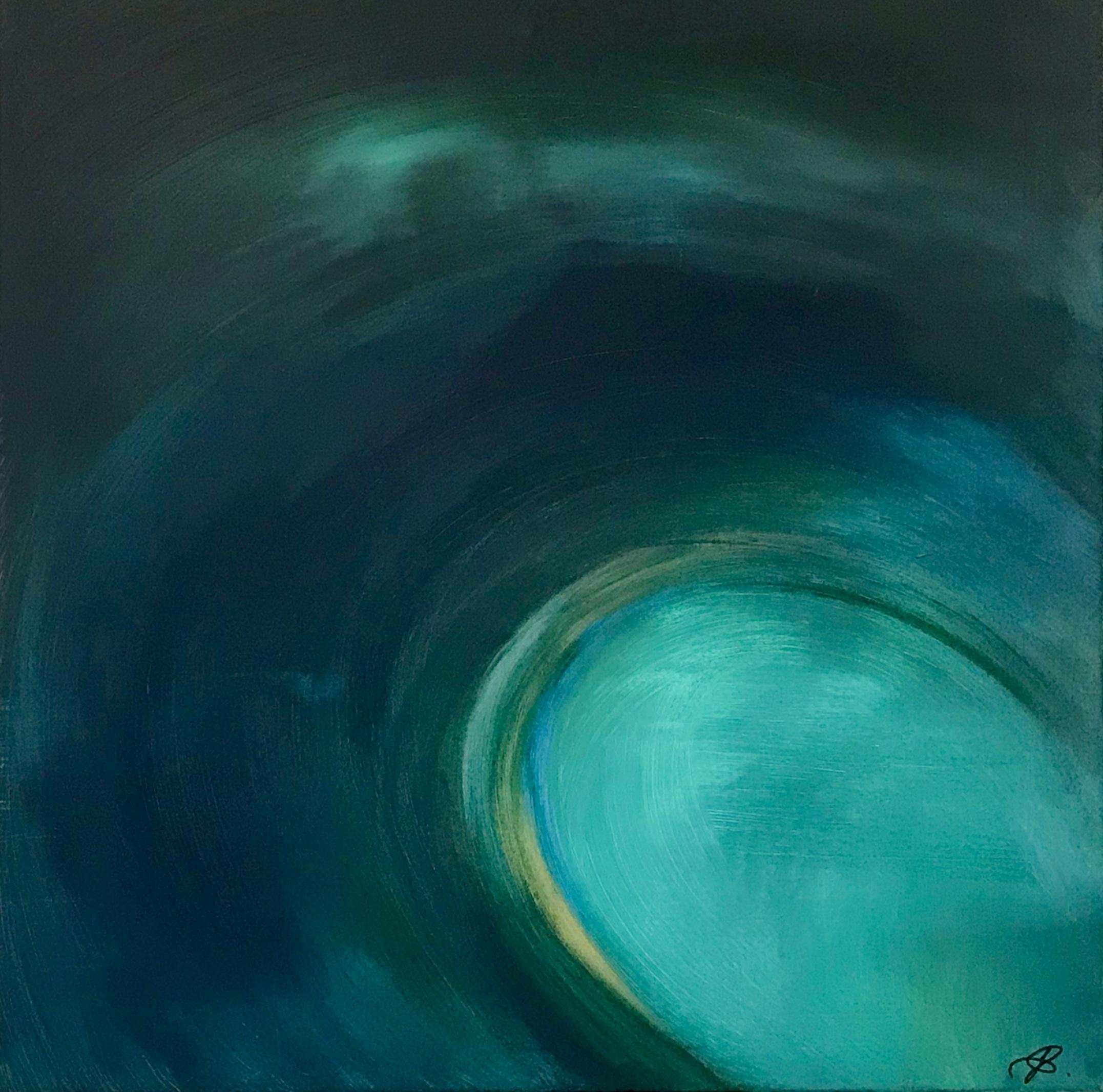 "Photo du tableau ""Flow"", J. Schallenberger"