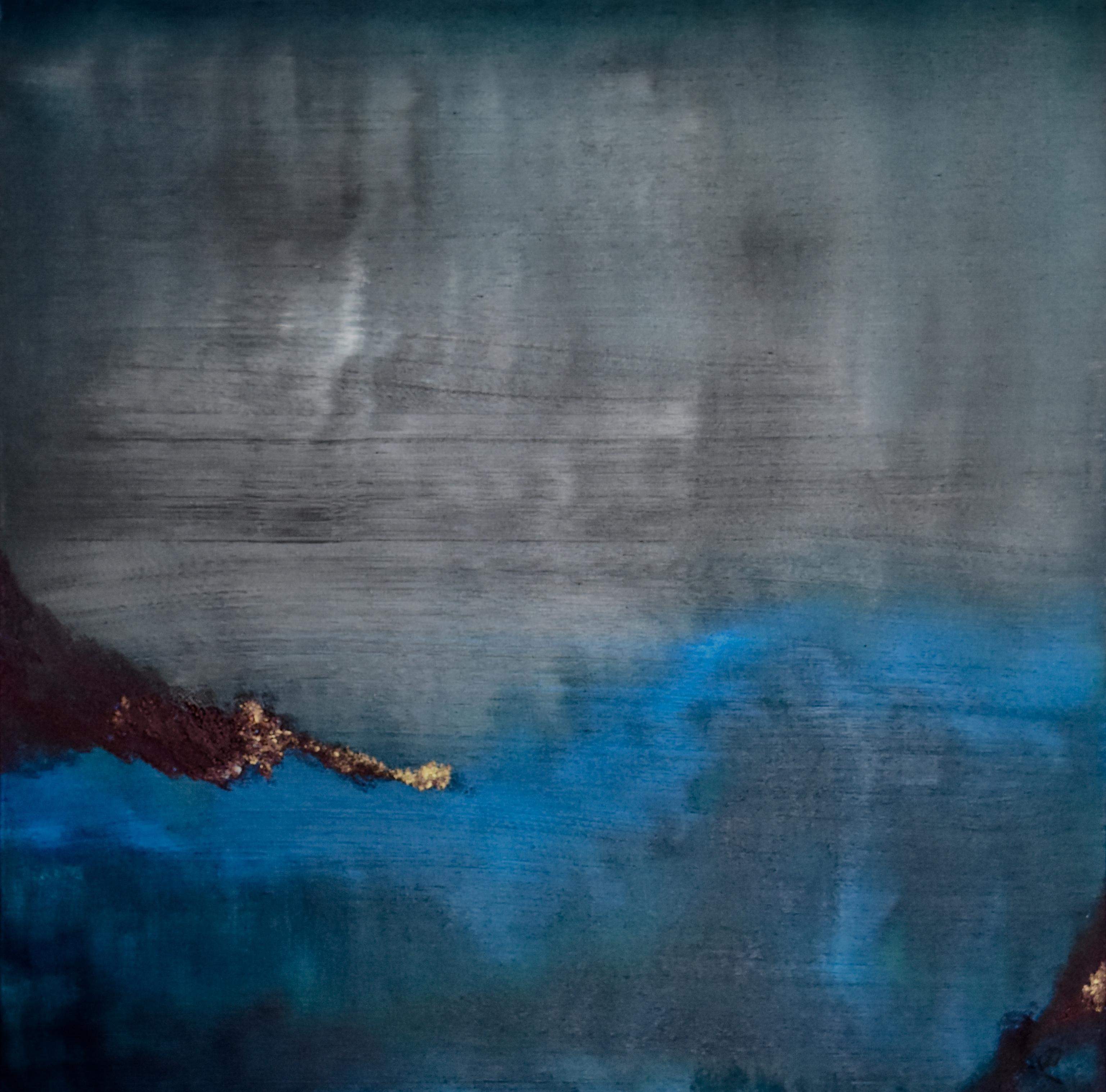 """Photo du tableau """"Source de feu"""", J. Schallenberger"""