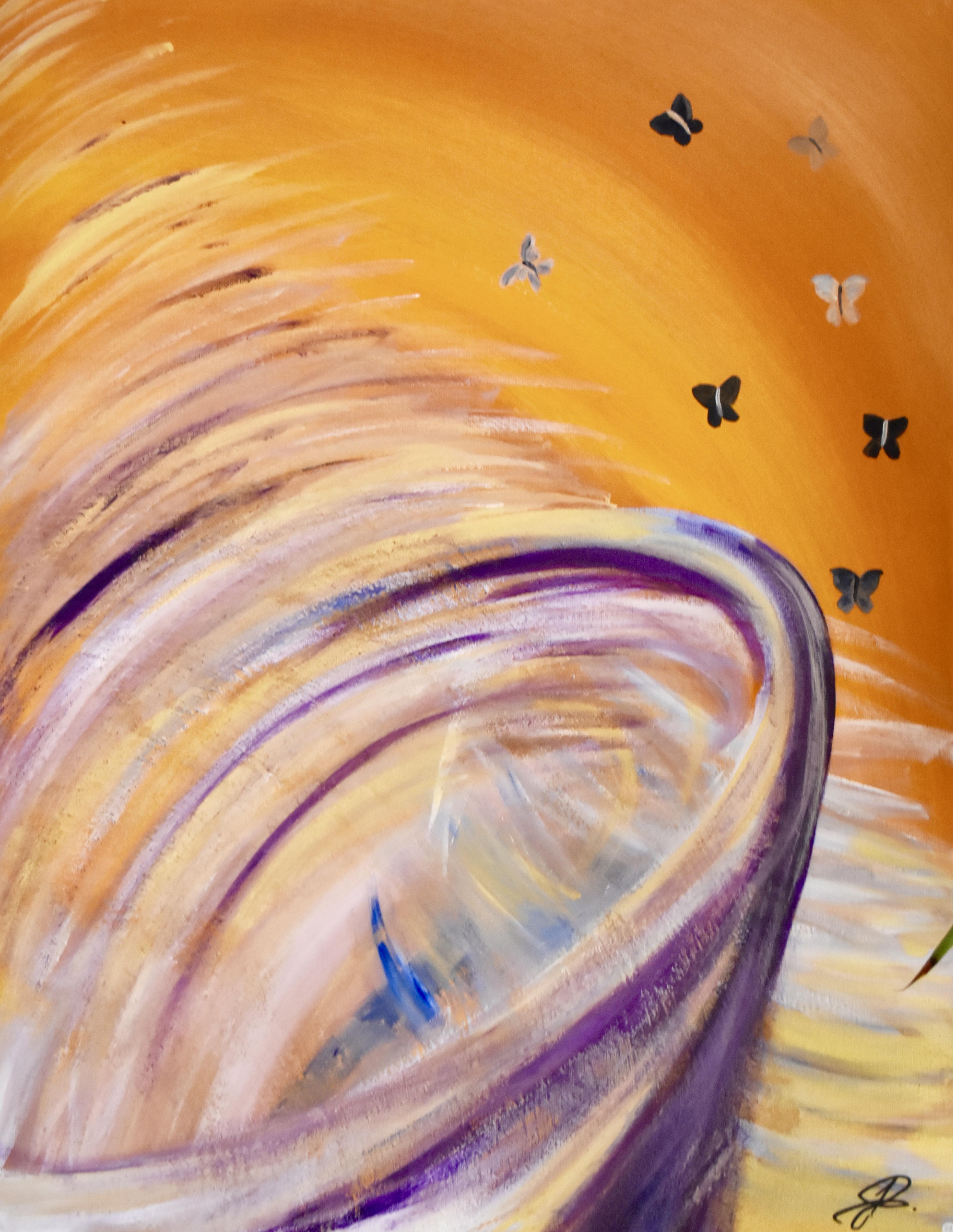 """Photo du tableau """"Vortex"""", J. Schallenberger"""