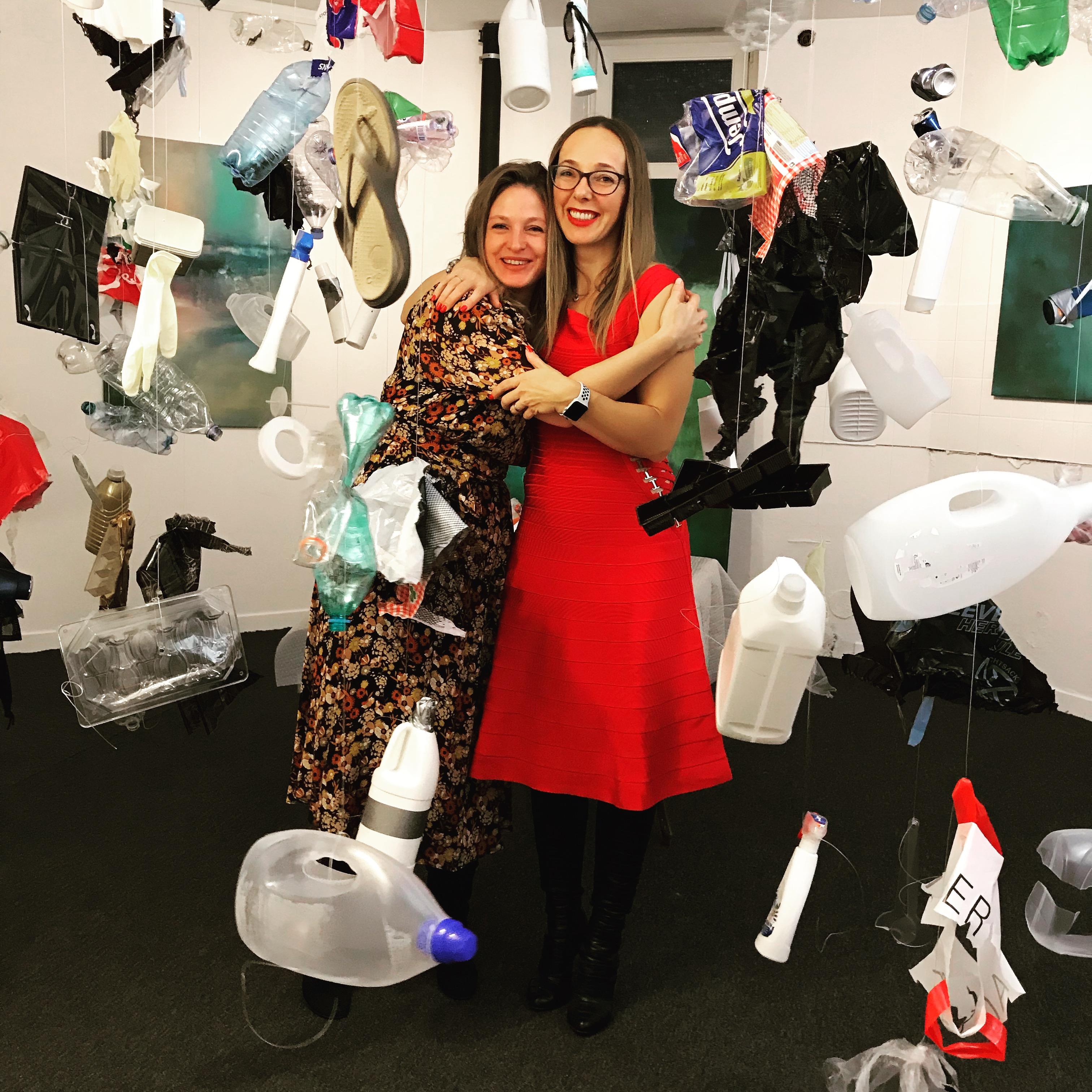 Dénoncer la pollution au plastique par de l'art