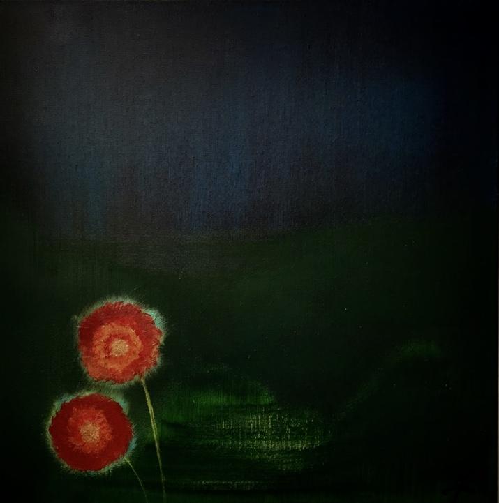 """Photo de la peinture """"Fleurisées"""""""